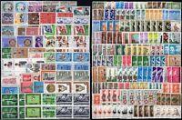 Repubblica - Lotto di 333 francobolli, 1958/77 - Nuovi (** MNH)