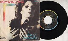 IVA ZANICCHI disco 45 giri STAMPA ITALIANA Arrivederci padre SANREMO 1977