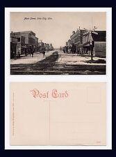 OHIO VAN WERT COUNTY OHIO CITY MAIN ST IN SNOW BY WEXELBAUM, LIMA, CIRCA 1907