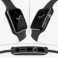 X6 SMARTWATCH SIM CARD ANDROID IOS BLUETOOTH CAMERA NFC MONTRE incurvé