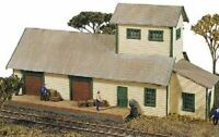 JLI 121 HO SCALE HUBERMIILL WAREHOUSE TRAIN BUILDING KIT W/DETAILS FREE SHIP