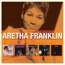 ARETHA FRANKLIN Original Album Series NEW & SEALED 5x CD Set CLASSIC SOUL 60s