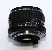 Pentax-A SMC 24mm F2.8 Wide Angle Prime Lens