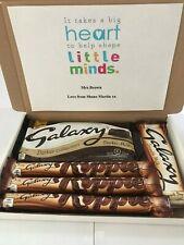 GALAXY DARKER CHOCOLATE BOX GIFT BIRTHDAY THANK YOU TEACHER PERSONALISED