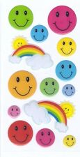 3D Epoxy Gel Stickers Smiley Face for Scrapbooking sticker Album school