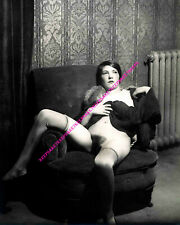 LEGGY FRENCH PROSTITUTE EARLY 1900s 8x10 PHOTO Z-FR1
