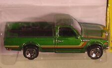 Hot Wheels Datsun 620 pickup green 2013