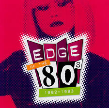 + EDGE OF THE 80's - 1982 to 1983 / VAR ARTISTS - 2 CD SET - brand new & sealed