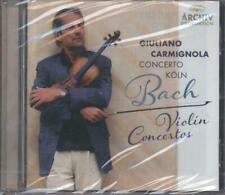 CD Bach - Violin Concertos - Giuliano Carmignola