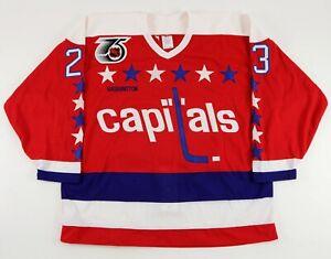 1991-92 Washington Capitals Paul MacDermid GAME ISSUED Hockey Jersey
