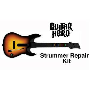 Strum Strummer Switch Repair Part Guitar Hero World Tour XBOX 360 PS3 Wii GHWT