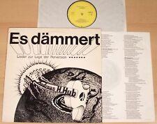 ANDREAS HANS HUB - Es dämmert  (PRIVATPRESSUNG 1981 + OIS / LP)