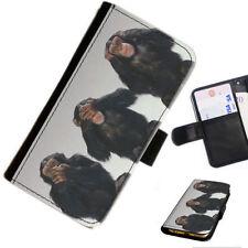 Fundas con tapa color principal negro para teléfonos móviles y PDAs Apple