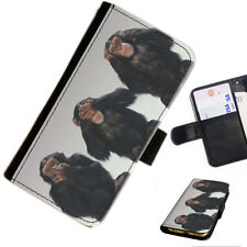 Fundas con tapa color principal negro para teléfonos móviles y PDAs Huawei