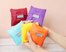 10pcs/Lot Foldable Reusable Eco Bag Travel Shopping Storage Tote Grocery Handbag