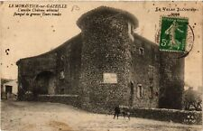 CPA  Le Monastier-sur-Gazeille - L'ancien Cháteau abbatial Flanqué de ..(517573)