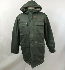 Obey Men's Puffy Parka Hooded Jacket Heller II Army Green Size M NWT Sherpa