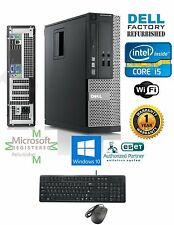 Dell Optiplex SFF PC DESKTOP i5 2400 Quad 3.1GHz 8GB 240GB SSD Windows 10 hp 64
