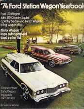Ford Station Wagons 1974 USA Market Sales Brochure Pinto Torino LTD
