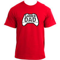 Gamer Dad T-shirt Like a normal dad except way cooler I Videogame Gaming T shirt