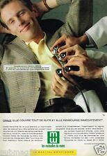 Publicité advertising 1989 Les Mutuelles du Mans