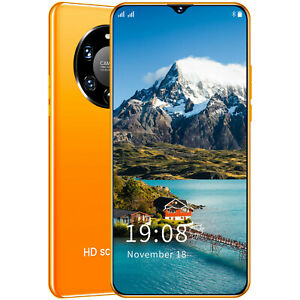 Mate 40Pro Cheap Factory Unlocked Smartphone Cell Phone Android  SIM Quad Core