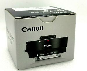 New CANON EF- EOS M Mount Adapter for EF / EF-S Lens Genuine Canon Japan Product