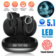 New listing Wireless Earbuds Bluetooth 5.1 Headsets Headphones Bass Stereo Ipx8 Waterproof