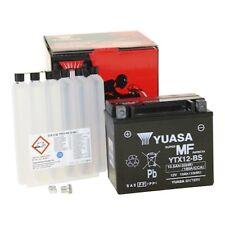 BATTERIA YUASA ytx12-bs AGM CON ACIDO per es. per Honda Helix 250
