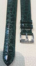 RADO GREEN LEATHER WATCH BAND For Crysma 18MM R08718H