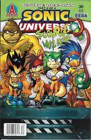 Sonic Universe Comic Issue 30 Modern Age First Print 2011 Ian Flynn Jim Amash