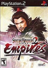 BRAND NEW SEALED PS2 -- Samurai Warriors 2: Empires (Sony PlayStation 2, 2007)