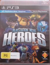 Playstation Move Heroes  Sony Playstation 3 PS3 Game PAL