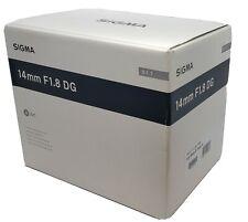 SONY E-Mount SIGMA Art 14mm F/1.8 DG HSM A7 A7s A7r III Nex A5000 A6300 A6500