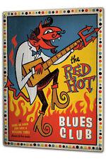 Tin Sign XXL Star  Blues guitar