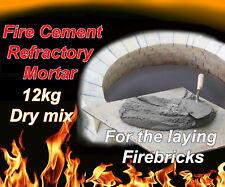 Fire cement high Temperature Mortar wood burner pizza oven brick dry mix 12kg