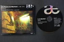 CD: Guillaume de Machaut Ballades Ensemble Musica Nova Lucien Kandel 2009 aeon