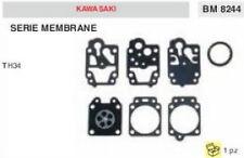 SERIE KIT MEMBRANE membrana CARBURATORE DECESPUGLIATORE KAWASAKI TH34 TH 34
