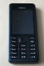 Nokia 301 - Black (O2) Mobile Phone Good Condition