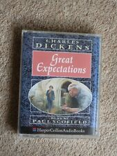CHARLES DICKENS - GREAT EXPECTATIONS  -  AUDIO BOOKS ( 2 CASSETTES )