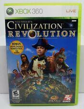 Sid Meier's Civilization Revolution (Microsoft Xbox 360, 2008) FREE SHIPPING