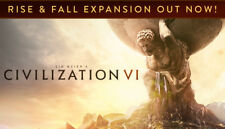 Sid Meiers Civilization VI 6 Steam Game (PC/MAC/LINUX) -  EUROPE/UK ONLY -