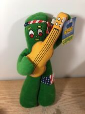 """GUMBY Playing a Guitar 15"""" Plush Good Stuff New w/ Tags"""