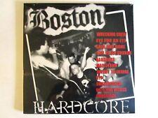 BOSTON HARDCORE 89-91 LP VARIOUS ARTISTS WRECKING CREW SUCKERPUNCH TAANG!