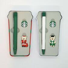 Starbucks Korea LAMY Collaboration Ballpoint Pen Set Bearista Limited Edition