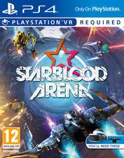 STARBLOOD ARENA PS4 VR PSVR BRAND NEW AND SEALED