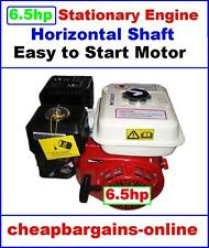 6.5hp ENGINE 4 STROKE STATIONARY MOTOR HORIZONTAL SHAFT WATER PUMP GENERATOR 5.5