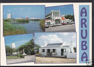 Aruba Postcard - Greetings From Aruba, Dutch Antilles  A9452
