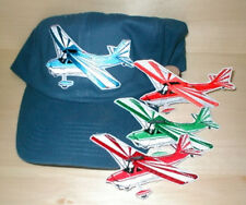 CITABRIA Airplane Aircraft Aviation Hat With Emblem Low Profile Style Navy3