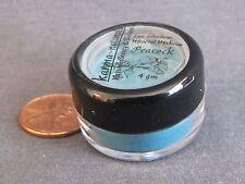 PEACOCK - Blue Green Teal EYE SHADOW Natural Mineral Makeup Powder 4 gm - NEW
